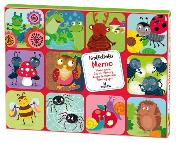 Gedächtnisspiel Krabbelkäfer Memo Moses Verlag
