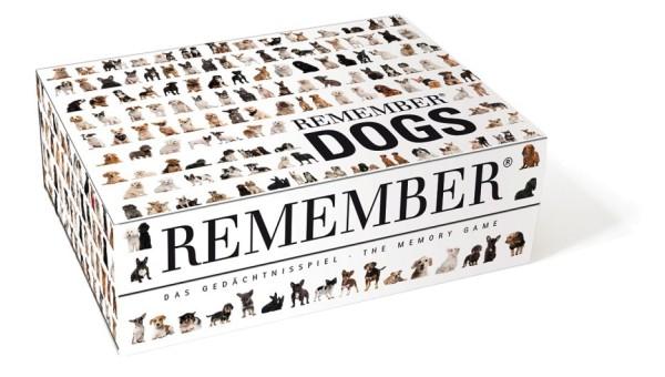 Gedächtnisspiel Hunde Dogs REMEMBER