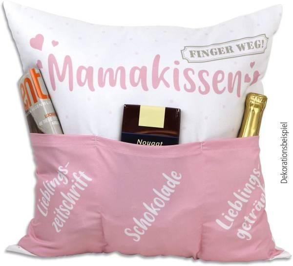 Mama Kissen 43x43 Motiv Geschenk Hergo