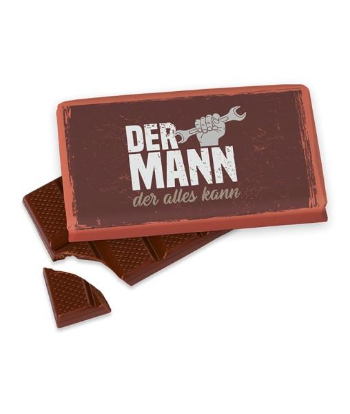"40gr. Schokolade ""Mann der Alles kann"" Männer Geschenk für Dich"