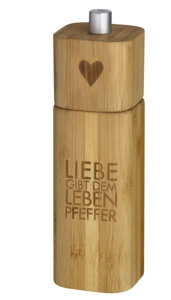 Pfeffermühle Liebe Räder Design
