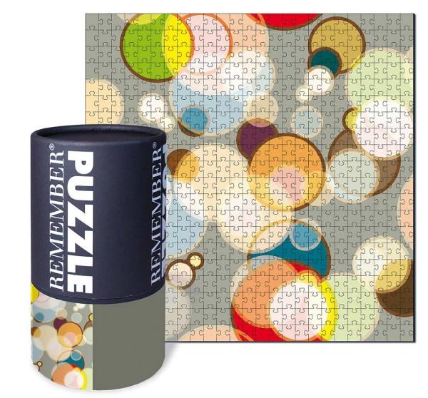 Puzzle Bubbles 500 Teile REMEMBER