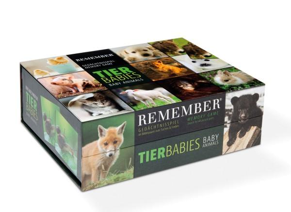 Gedächtnisspiel Memory Game Welpen Tier Baby Bilder