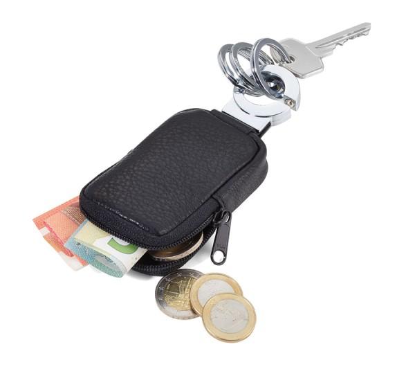 Schlüsselanhänger mit Tasche Kleingeld POCKET CLICK Troika