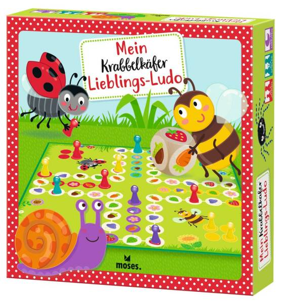 Würfelspiel Krabbelkäfer Lieblings-Ludo Moses Verlag
