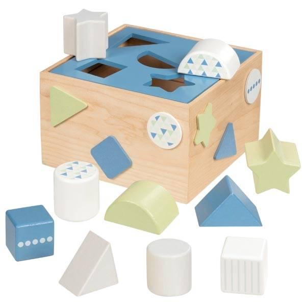 Steckbox Aqua Lernspielzeug Holzspiel goki