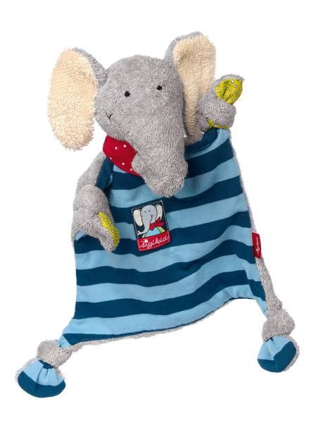 Schmusetuch Lolo Elefant Schnuffeltuch Sigikid