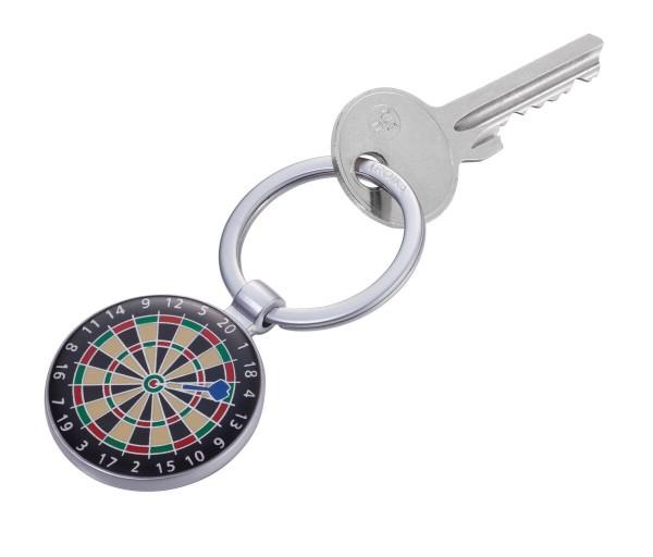 Schlüsselanhänger Dart Dartscheibe Sport Troika