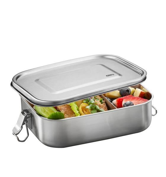 Lunchbox ENDURE Edelstahl 22 x 16,5 cm Gefu