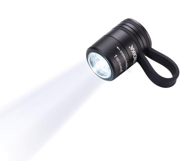 LED Lauflampe ECO RUN schwarz TROIKA
