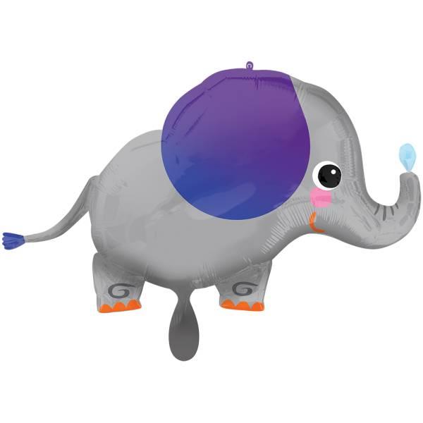 Elefant Kinder Folienballon Luftballon