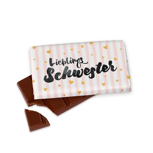 Schokolade Lieblingsschwester LaVida
