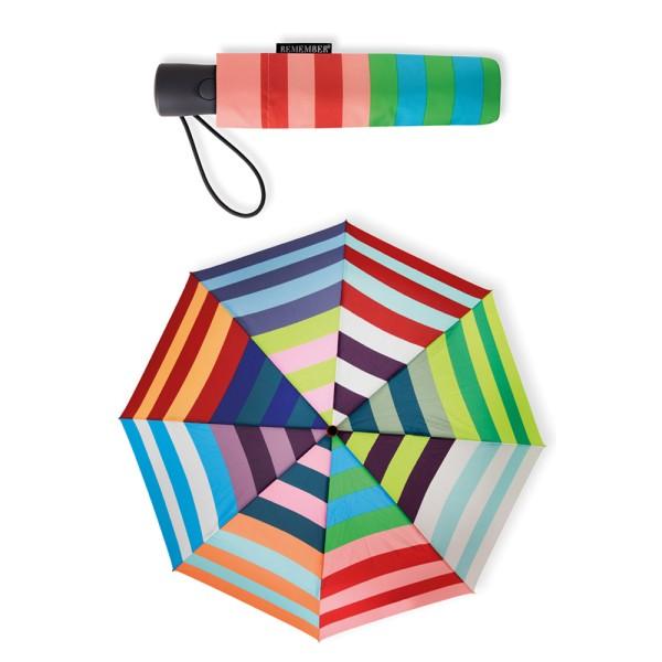 REMEMBER - Allegra Automatik Regenschirm - klein