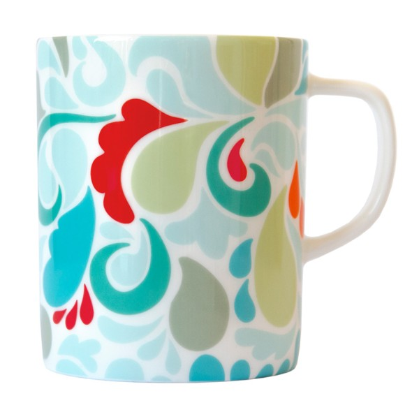 Bone-China-Porzellan Tasse Florina REMEMBER