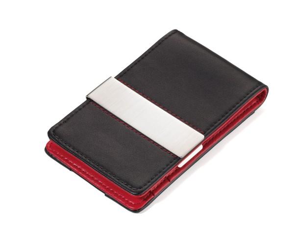 RED PEPPER Troika Leder Kreditkartenetui Geldklammer