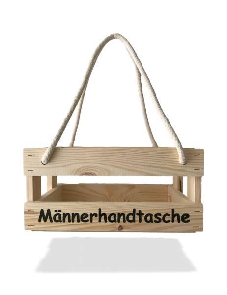 Männerhandtasche Geschenkkorb Grillparty