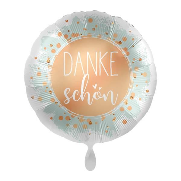 Dankeschön Unterstützung rund 43cm Luftballon