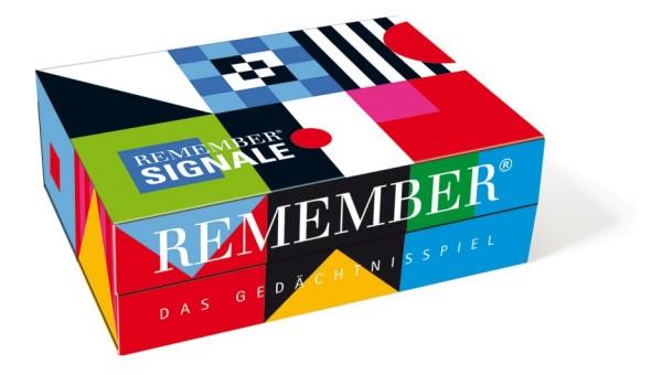 Gedächtnisspiel Signale mit Farbe und Form REMEMBER