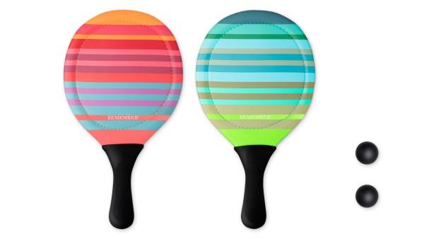Beach Tennis Schläger Set REMEMBER