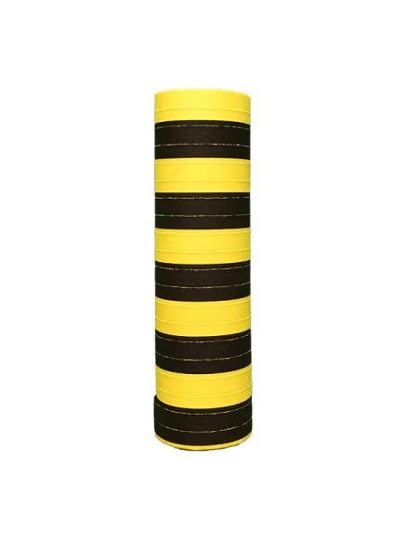 Luftschlange Schwarz-Gelb Party Dekoration