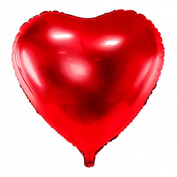 XL Herz rot D61 cm Luftballon