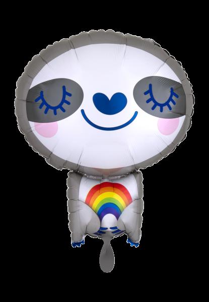 Faultier Tier Folienballon Luftballon