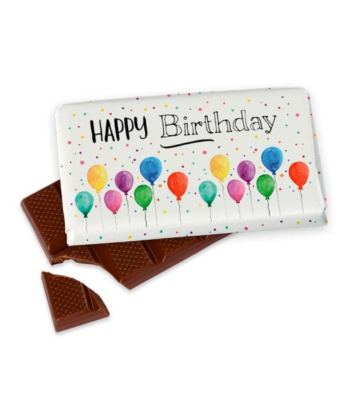 "40gr. Schokolade ""Happy Birthday"" Geburtstag LaVida"