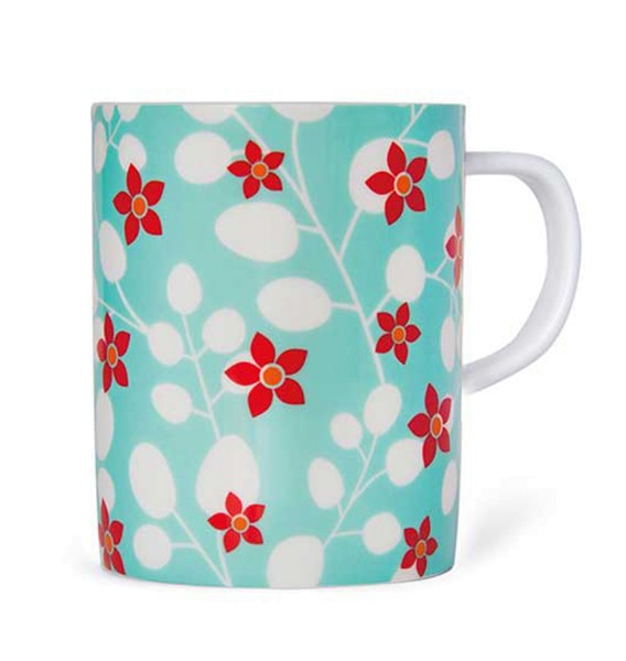 Bone-China-Porzellan Tasse Primavera REMEMBER