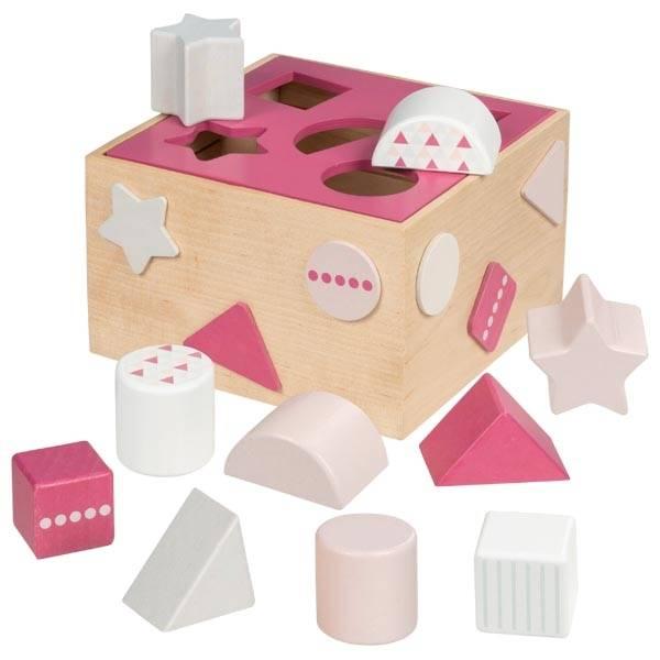 Steckbox Beere Lernspielzeug Holzspiel goki