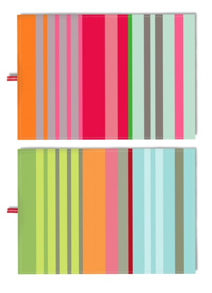 Geschirrtuch Uni Color 2 Motive Set Nr. 16 REMEMBER