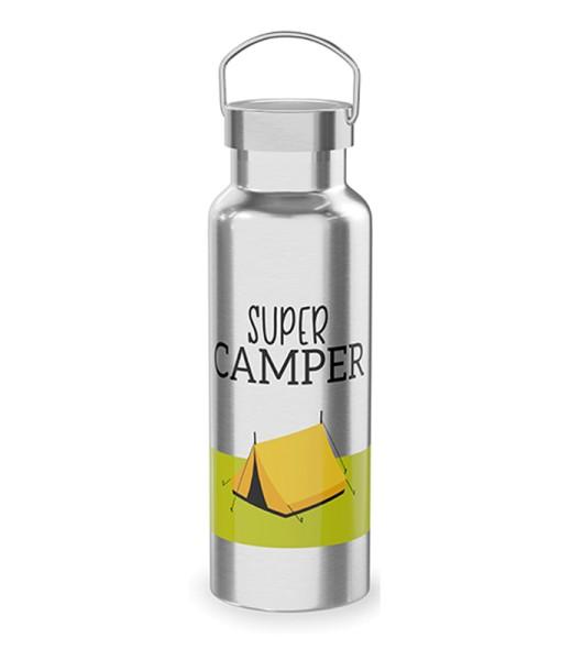 Thermosflasche SUPER CAMPER Männergeschenk LaVida