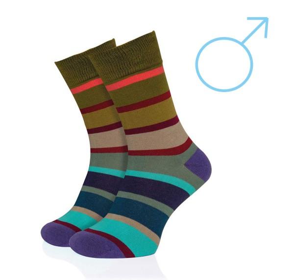 Herren Socken Geschenk Modell 33 Gr. 41 - 46 REMEMBER