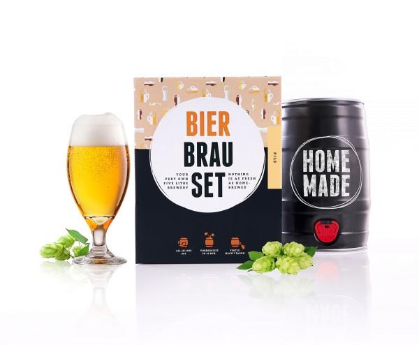 Pils Bier BrauSet Geschenk Männer Biertrinker
