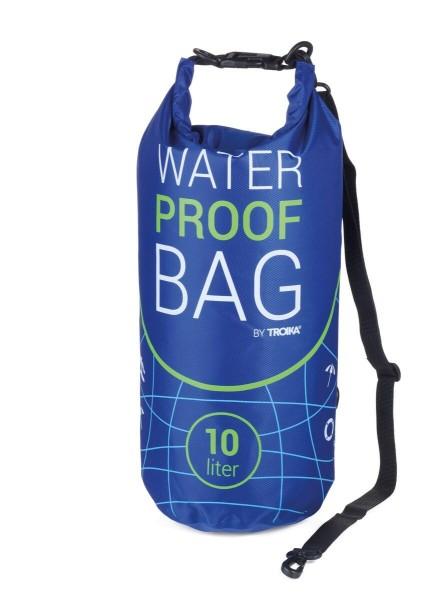 DryBag 10L Outdoor Tasche Waterproof Bag blau Troika