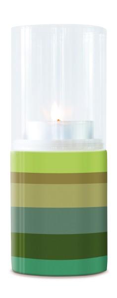 Glas Porzellan Windlicht Verde REMEMBER