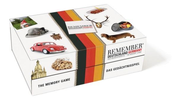 Gedächtnisspiel typisch Deutschland REMEMBER