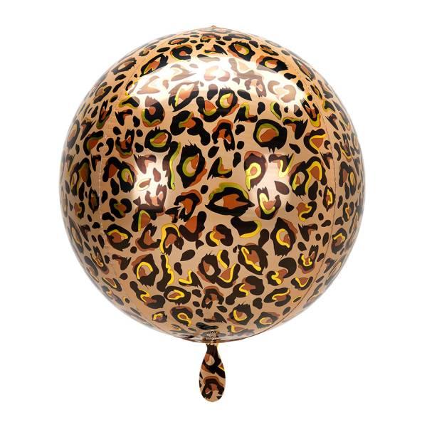 Discokugel Leopard Safari Kugel Luftballon