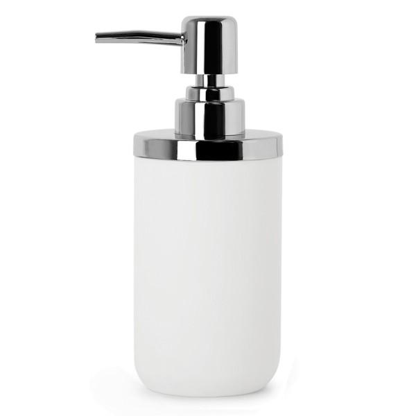 Seifenspender Junip 300ml matt Weiß mit Chrom Umbra