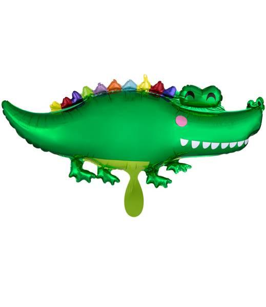 Krokodil XL 106cm Folienballon Luftballon