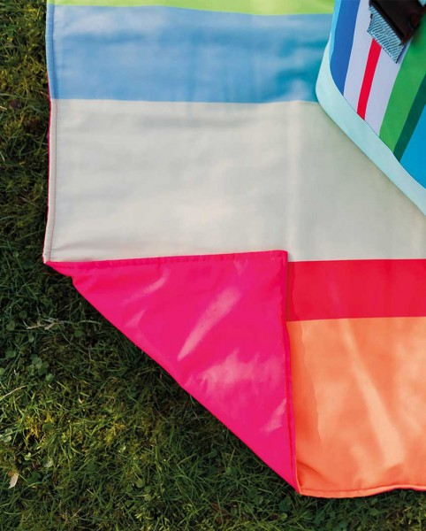 Picknickdecke Malta wasserabweisend 190x145 REMEMBER