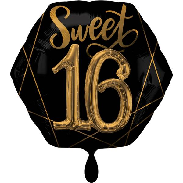 XXL Folienballon 16.Geburtstag Luftballon