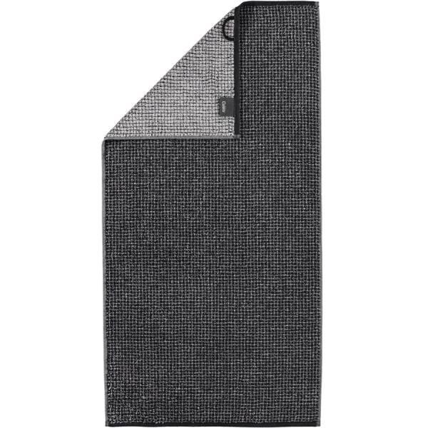 Handtuch schwarz 50x100 Zoom Allover 97 Cawö