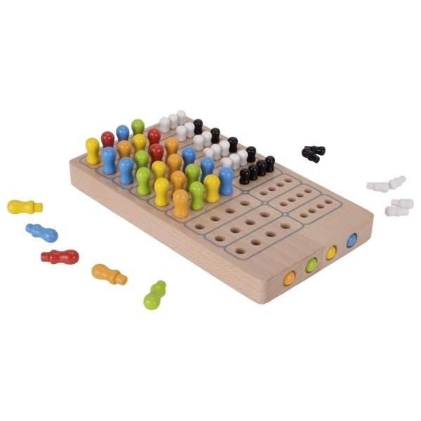 Master Logic Brettspiel Holz Goki