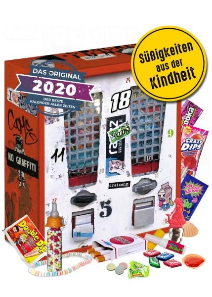 Adventskalender Nostalgie 24 Süßigkeiten & Saures