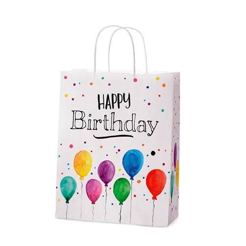 Geschenktüte Happy Birthday groß Lavida Geschenke Geburtstag