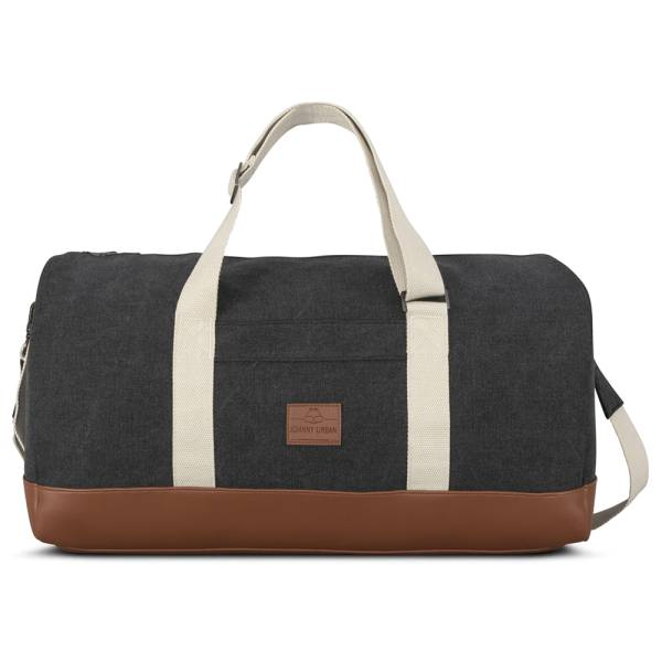 Weekender Paul anthrazit Canvas & veganes Kunstleder
