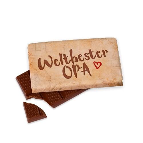 Schokolade Weltbester Opa LaVida