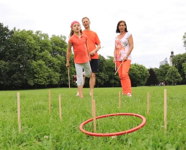 Tualoop Set Outdoor Wurfspiel Fangspiel TicToys