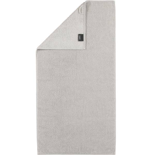 Handtuch platin 50x100 Zoom Allover 76 Cawö