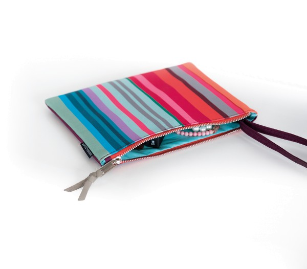 Pouch Stripes Kosmetiktasche REMEMBER